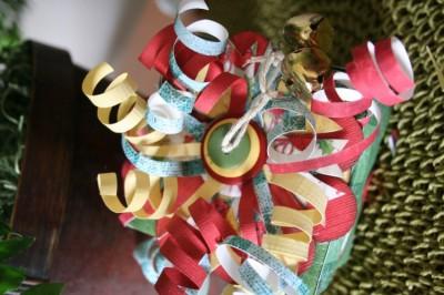 gift box curled ribbon