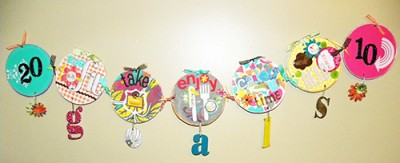 CD Banner displaying New Year's Resolutions