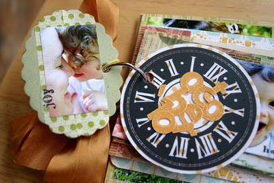 Save money and time with this approach to making hodgepodge mini albums