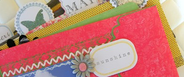 3 Ways to Turn Your Home Office Supplies into Beautiful Mini Albums