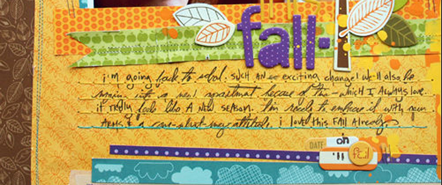 3 Journaling Treatments That Add Texture and Dimension to Your Scrapbook Page