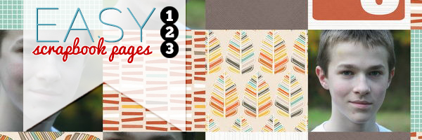 """How to Make Easy Scrapbook Pages: Use a """"Grid-In-A-Band"""" Foundation"""