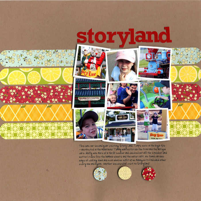 Use These Grid Foundations on Your Next Scrapbook Page