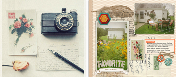 TLS006: Evoke a mood on your scrapbook page: keep product, photo and inspiration in sync (Video)