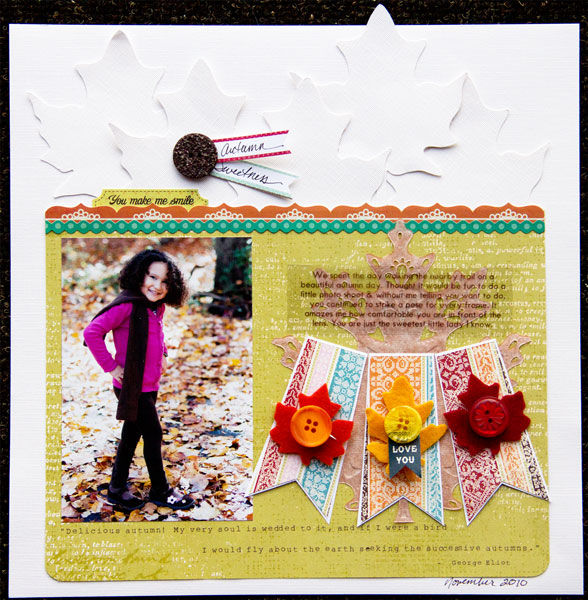 Scrapbook Ideas for Combining Embellishments on The Page | Cindy Liebel | Get It Scrapped