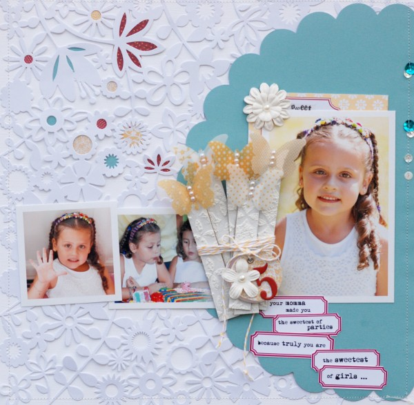 Scrapbook Ideas for Combining Embellishments on The Page | Betsy Sammarco | Get It Scrapped