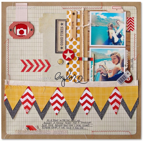 Scrapbooking Ideas Inspired by Kim Watson's Layouts | Get It Scrapped