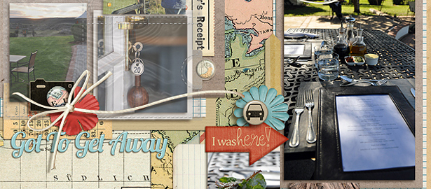 Ideas for Scrapbook Pages with 7 Photos