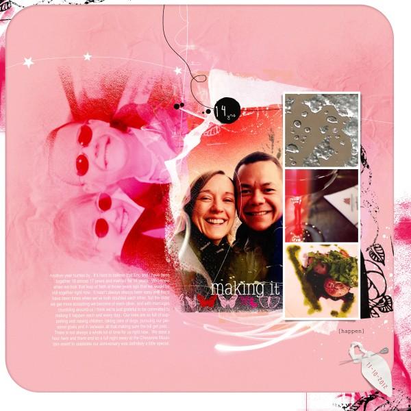 Making It by Anna Aspnes | Supplies:  ArtsyKardz Socialize, ArtPlay Palette Socialize, FotoWallets No. 3. Fonts:  Courier New, SlabserifXhigh, Butterflies, Arial Narrow