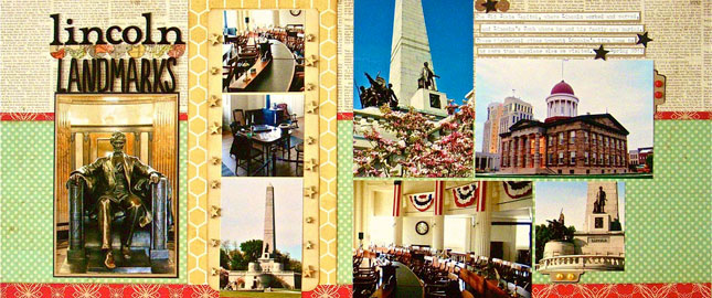 Ideas for Scrapbook Pages with 8 Photos