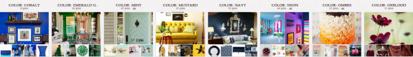 Follow Get It Scrapped on Pinterest to keep track of color, ,pattern, style, and motif trends as we spot them.