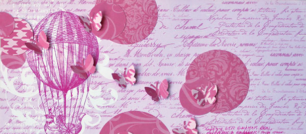 Ideas for Using Tone-On-Tone Patterns and Layered Elements on Scrapbook Pages