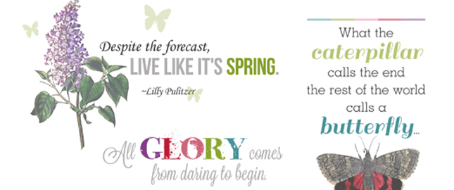 Beginnings Quotes and Word Art for Your Scrapbooking Layouts