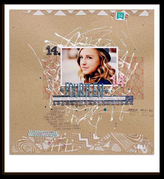 Scrapbooking Ideas Inspired by Corrie Jones' Layouts | Corrie Jones | Get It Scrapped