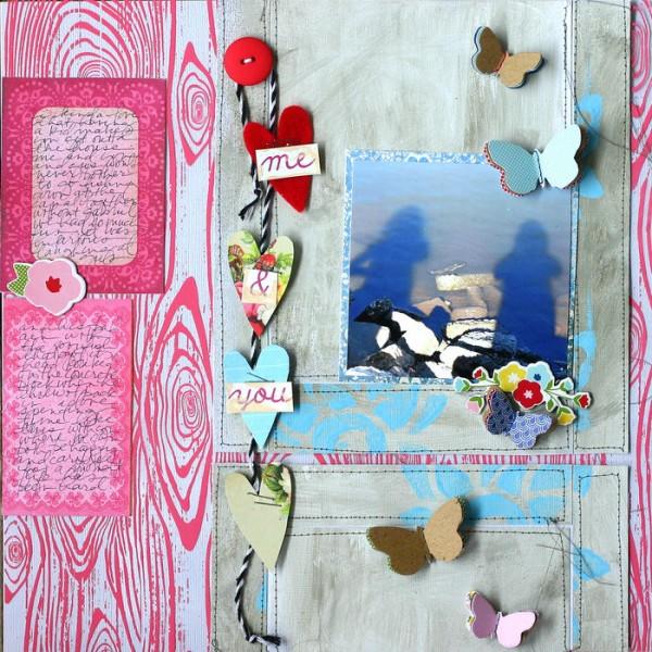 Scrapbooking Ideas Inspired by Doris Sander's Layouts | Get It Scrapped