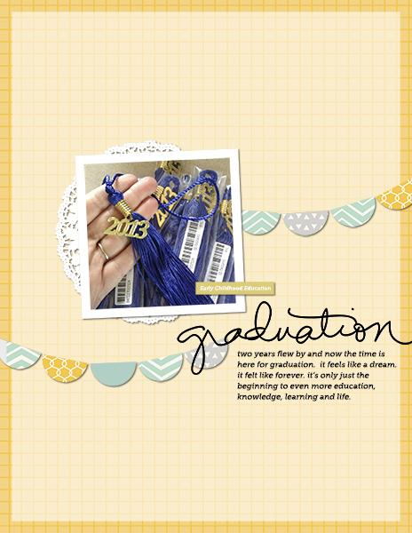 Ideas for Scrapbooking Graduations and Milestone Ceremonies | Tara McKernin | Get ItScrapped