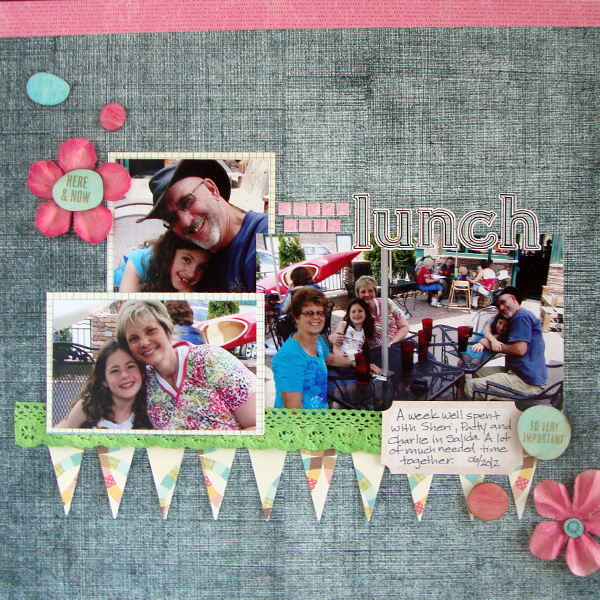 Ideas for Copic Marker Coloring on Scrapbook Layout Embellishments | Michelle Houghton | Get It Scrapped