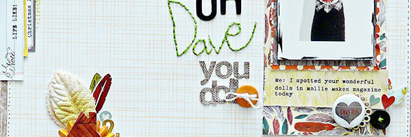 Sian Fair Makes Scrapbook Layouts with Charming Details | Motivated to Scrapbook Series