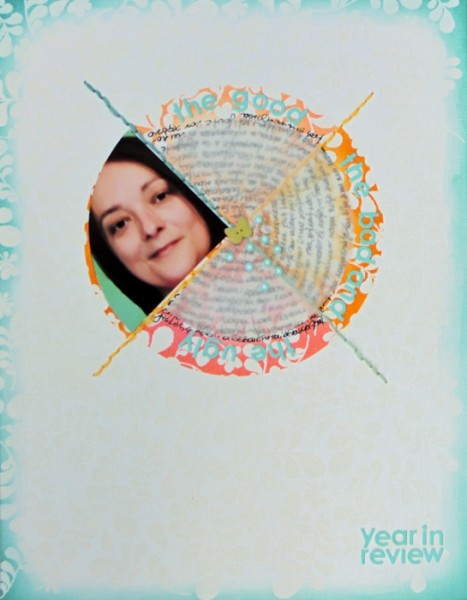 Using Scrapbooking Ideas | Inspired by the Crossed or X Logo Design | Kiki Kougioumtzi | Get It Scrapped