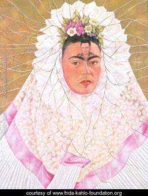 Diego on My Mind by Frida Kaho. Source: Frida Kahlo Foundation