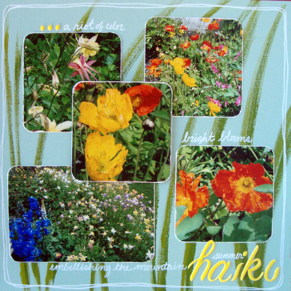 6 Experiments in Scrapbook Layout Design Rule Breaking | Michelle Houghton | Get It Scrapped