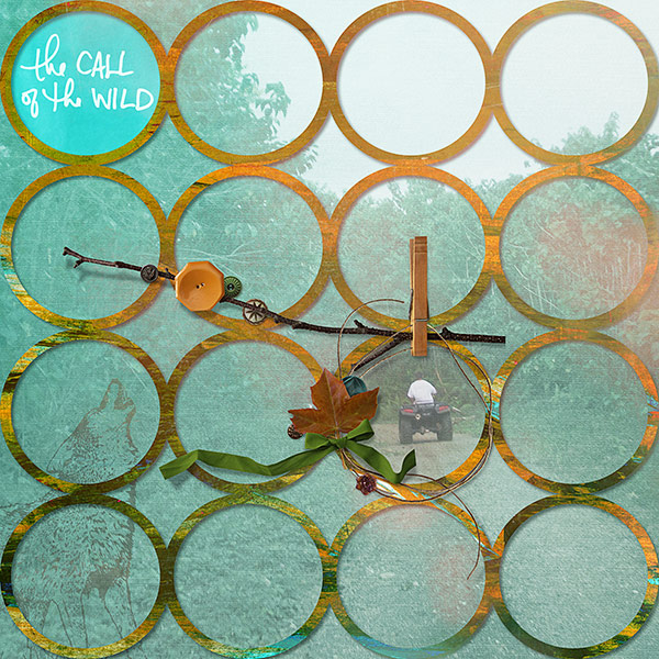 8 Ideas for Scrapbook Layout Design with Circles | Deborah Wagner | Get It Scrapped