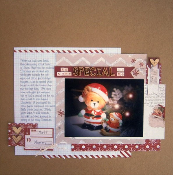 Ideas for Scrapbook Pages about Gifts Given and Received  | Brenda Becknell | Get It Scrapped