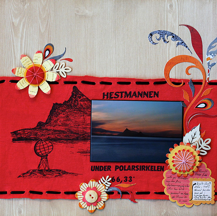 Scrapbooking Ideas for Personalizing Layouts about the Places You Love   Lise Mariann Alsli   Get It Scrapped