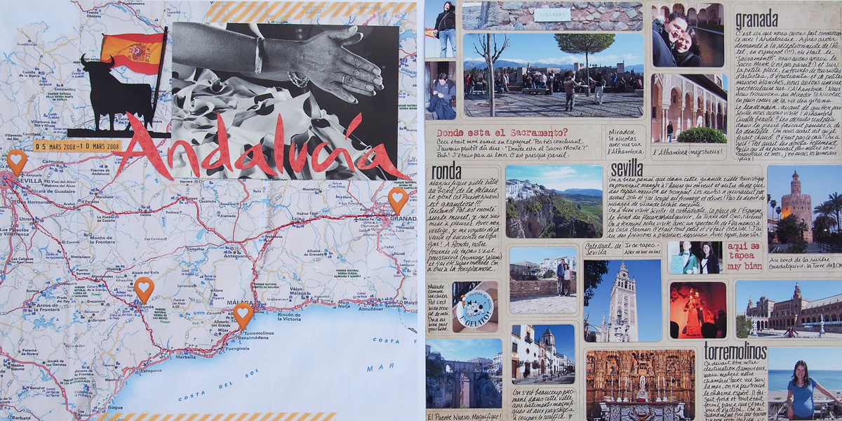 Scrapbooking Ideas for Personalizing Layouts about the Places You Love   Marie-Pierre Capistran   Get It Scrapped