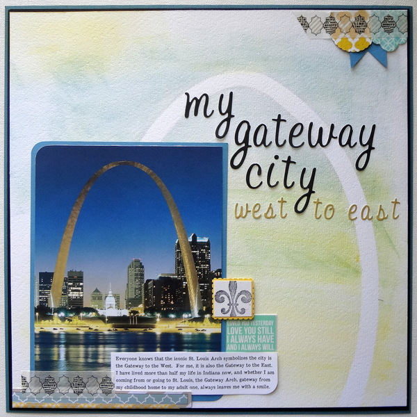 Scrapbooking Ideas for Personalizing Layouts about the Places You Love   Susanne Brauer   Get It Scrapped