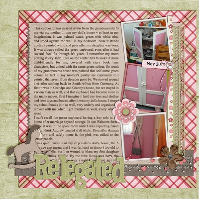 Relegated by Stefanie Semple | Supplies: Wimpychompers Creations (kit) Our New Princess, Scrapping with LIz (template) Traditional Temp Freebie