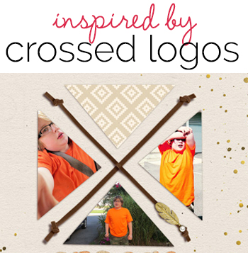 "Video Blog | Scrapbooking Ideas Inspired by Crossed and ""X"" Logo Designs "" Get It Scrapped"