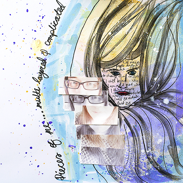Scrapbooking Ideas Inspired by Artsy Portraits | Amanda Robinson | Get It Scrapped