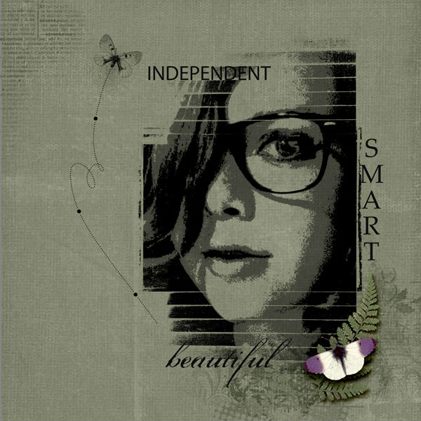 Scrapbooking Ideas Inspired by Artsy Portraits | Andrea | Get It Scrapped