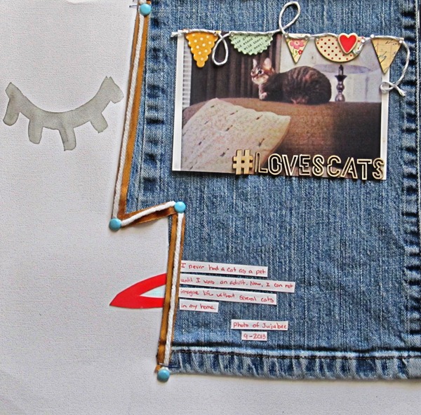 Scrapbooking Ideas Inspired by Artsy Portraits | Christy Strickler | Get It Scrapped