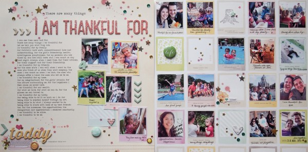 Ideas for Embellishing Scrapbook Pages with a Sprinkling or Trail | Marie-Pierre Capistran | Get It Scrapped