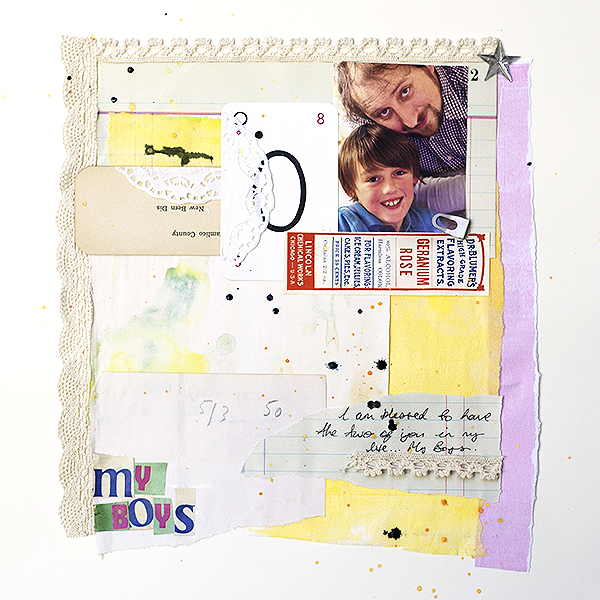 Scrapbooking Ideas For Collaged Storytelling | Amanda Robinson | Get It Scrapped