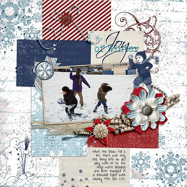 Scrapbooking Ideas For Collaged Storytelling | Audrey Tan | Get It Scrapped