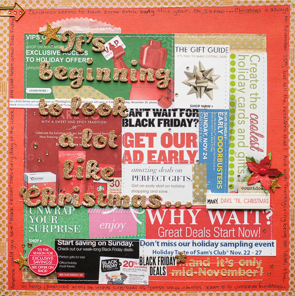 Scrapbooking Ideas For Collaged Storytelling | Marcia Fortunato | Get It Scrapped