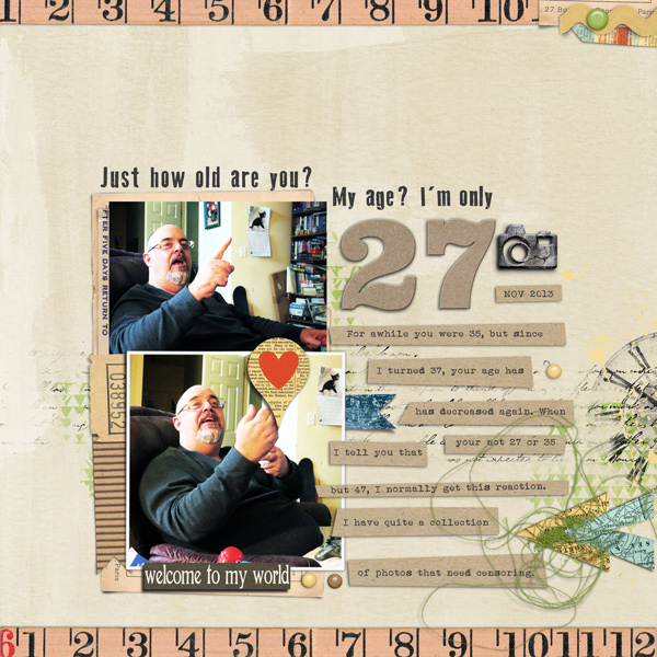 Scrapbooking Ideas for Telling A Story with Numbers | Carrie Arick | Get It Scrapped