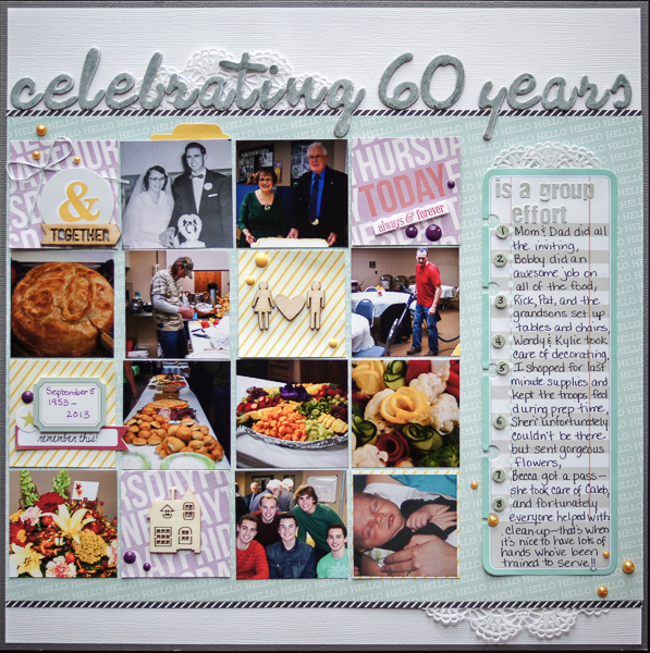 Scrapbooking Ideas for Telling A Story with Numbers | Marcia Fortunato | Get It Scrapped