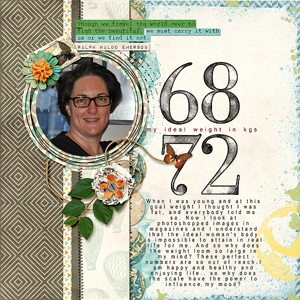 Scrapbooking Ideas for Telling A Story with Numbers | Stefanie Semple | Get It Scrapped