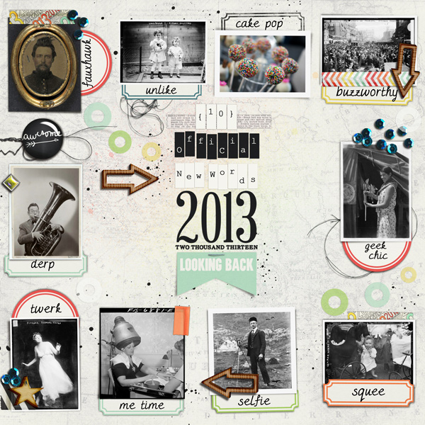 Scrapbooking Ideas for Recording a Top 10 Round-Up of Current Culture   Carrie Arick   Get It Scrapped