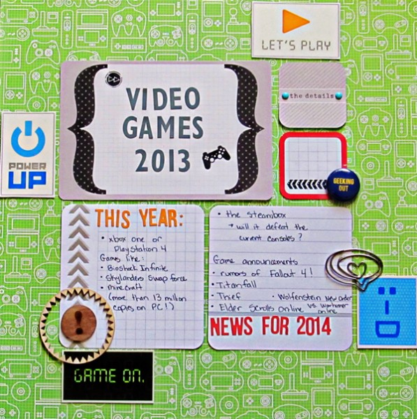 Scrapbooking Ideas for Recording a Top 10 Round-Up of Current Culture   Christy Strickler   Get It Scrapped
