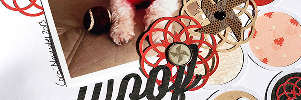 Motivated to Scrapbook | Amanda Robinson Uses Die Cuts to Personalize Her Pages
