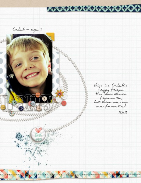 6 Experiments in Scrapbook Layout Design Rule Breaking | Amy Kingsford | https://getitscrapped.com