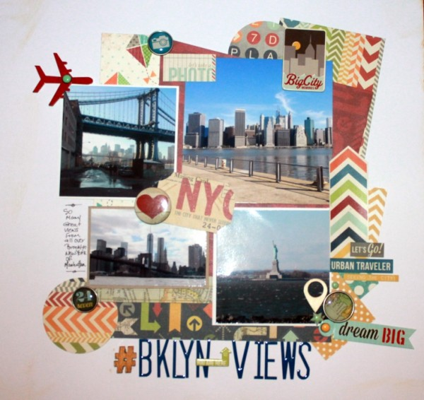 Scrapbooking Ideas for Personalizing Layouts about the Places You Love   Rosann Santos-Elliott   Get It Scrapped