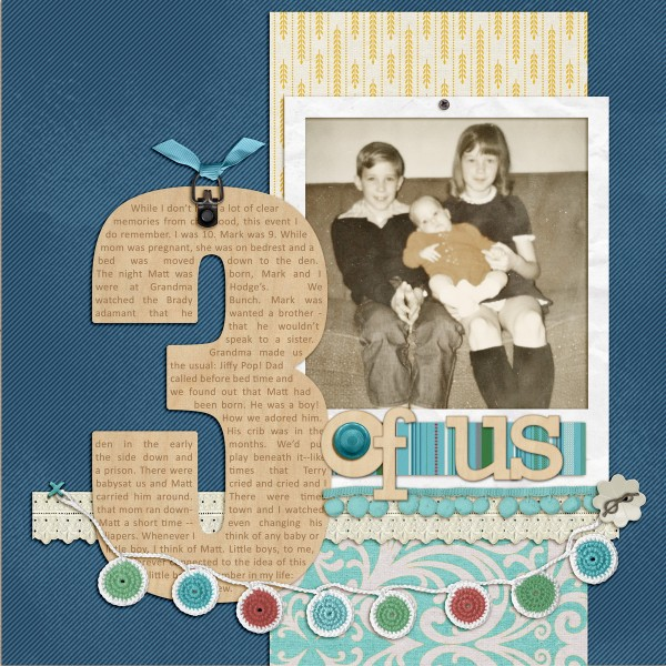 Scrapbooking Ideas for Telling A Story with Numbers | Debbie Hodge | Get It Scrapped