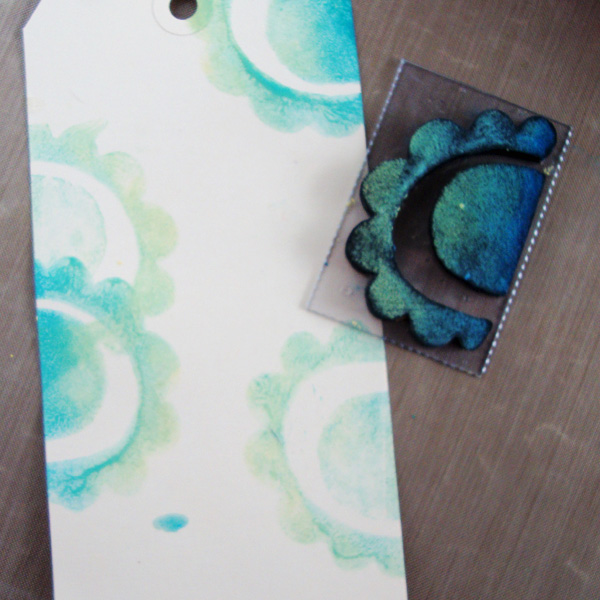 Mixed Media Techniques with Michelle Houghton | Stamping with Paint