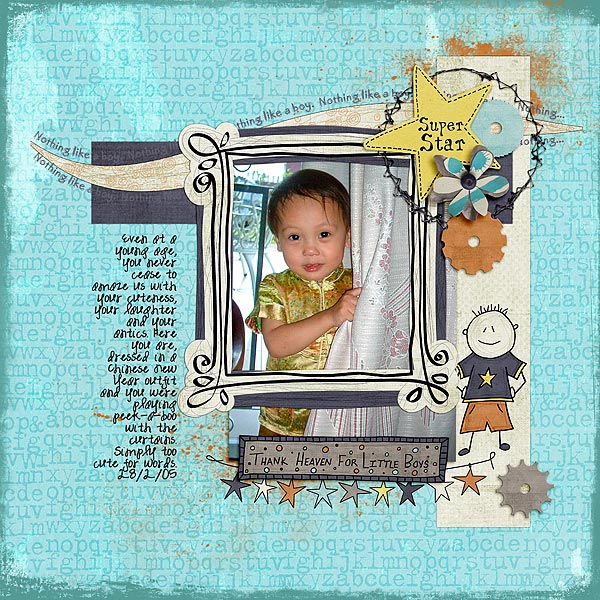 Scrapbook Page Starters: Arrange Photos and Elements with a Bracket Foundation |  Audrey Tan | Get It Scrapped